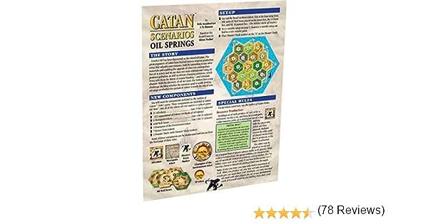 Import Anglais]Catan Scenarios Oil Springs: Amazon.es: Juguetes y juegos