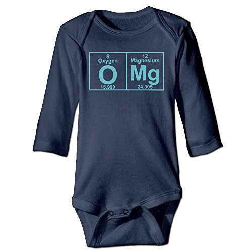 Price comparison product image O Mg Funny Science Boys Girls Baby Onesie Unisex Infant Clothing Long Sleeve