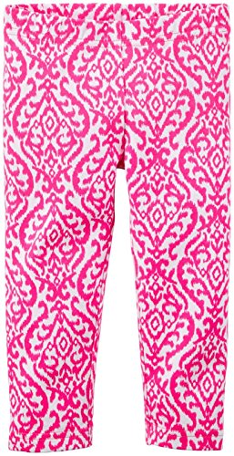 888767360755 - Carter's Girls' Single Legging 258g207, Print, 3T carousel main 0