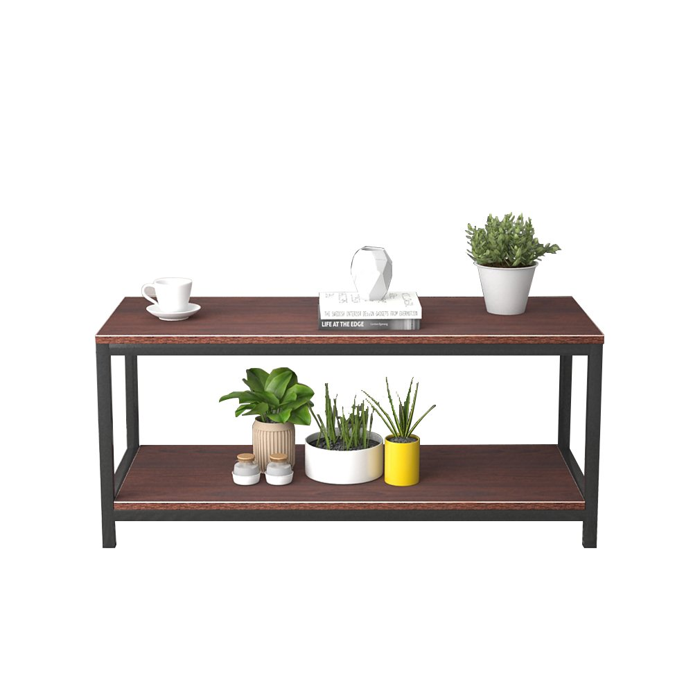 DlandHome Coffe Table Side Table 15.7