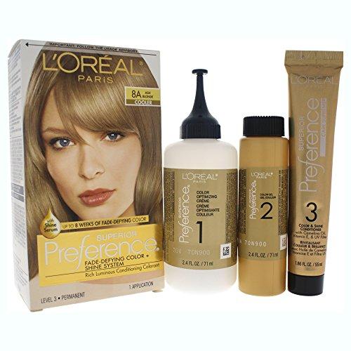 L'Oréal Paris Superior Preference Permanent Hair Color, 8...