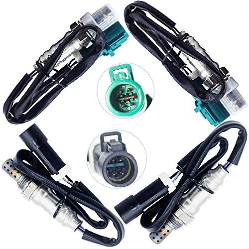 - Sangyue Oxygen Sensor 1 Sensor 2 O2 02 for Ford F-150 2004-2008 4.2L 4.6L 5.4L Lincoln Mark LT 5.4L 2006-2008 Upstream + Downstream 4PCS