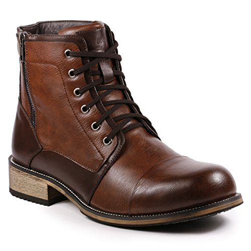 Mens Motorcycle Boots Fashion - 5