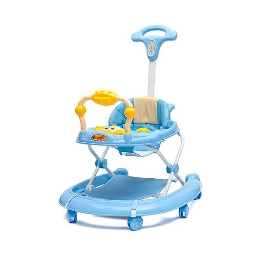 DJXLMN Andador Plegable para niños pequeños, Andador con 6 Ruedas ...