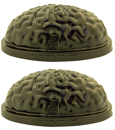 Floating Brain Freeze Gelatin Candy or Ice Cube Mold, 8 1/2 Inch -