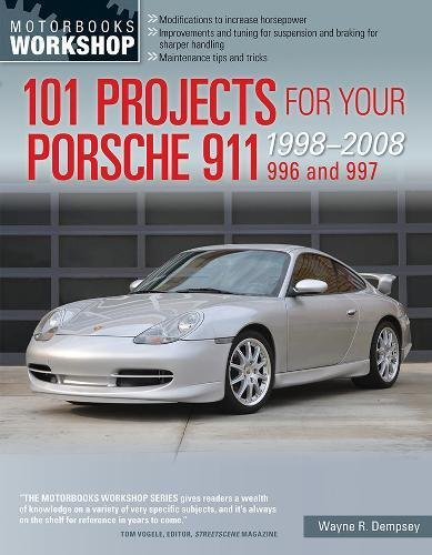 Price comparison product image 101 Projects for Your Porsche 911, 996 and 997 1998-2008 (Motorbooks Workshop)