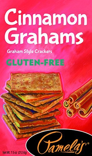Pamela's Products Gluten Free Graham Crackers, Cinnamon(Pack of 6) by Pamela's Products by Pamela's Products