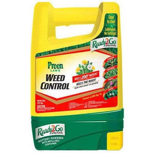 Preen Lawn Weed Control Ready 2 Go Spreader, 5 lb