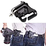 Gold Happy Fast Loading Holster Hanger Quick Strap DSLR Camera Waist Belt Buckle Button Mount Clip Camera Video Bags for Sony Canon Nikon