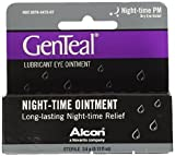 Genteal Pm Dry Eye Relief Severe Night-Time Ointment .12 fl oz (6 Pack) by Genteal
