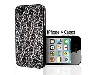 Black Lace Tight iPhone 5/5s case