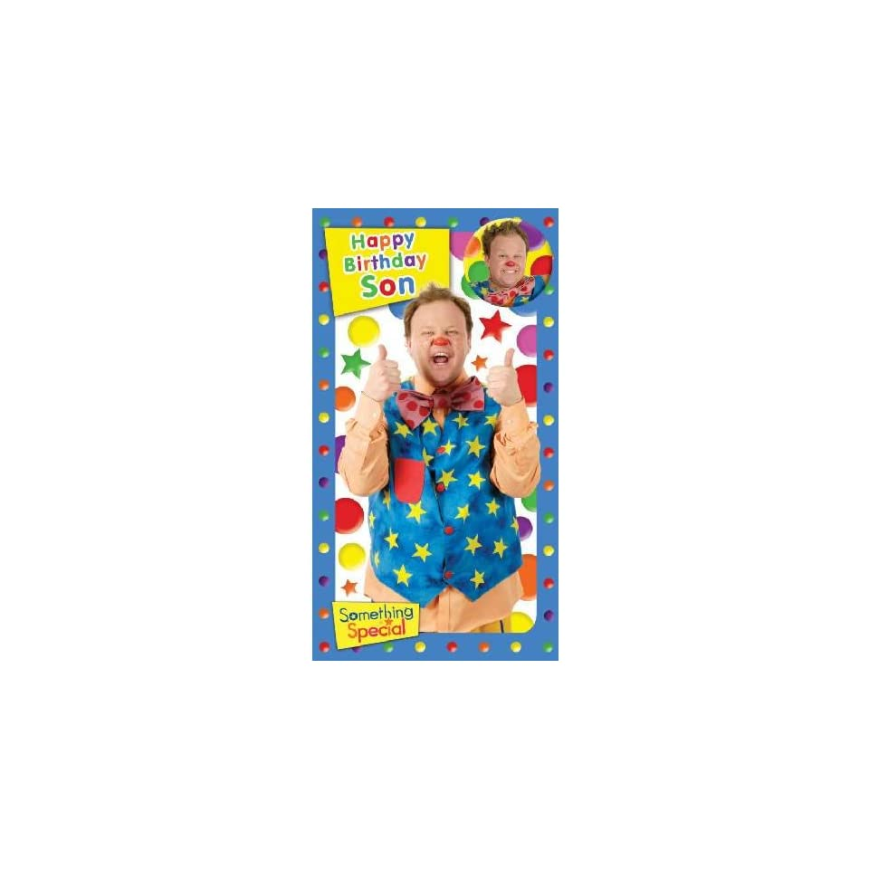Something Special Mr Tumble Son Birthday Card