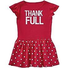 inktastic Thank-Full- For Thanksgiving Dinner Toddler Dress