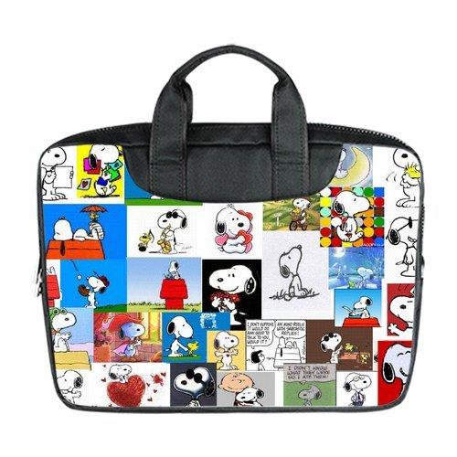 JOJO custom laptop bag(Mochilas) Cute Snoopy computer handbag(Mochilas)s for 15.6 inch messenger bag(Mochilas) office easy carry: Amazon.es: Ropa y ...