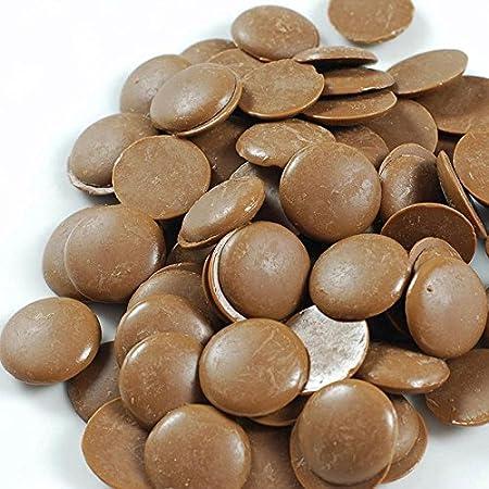 5 kg de chocolate con leche en pastillas, para helados y dulces: Amazon.es: Hogar