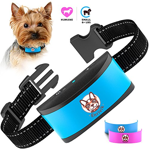 Small Adjustable Collar (Anti Bark Collar for Small Dogs - Rechargeable Small Dog Barking Collar - Smallest & Most Humane No Bark Collar)