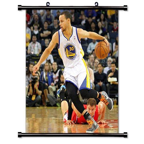 Amarillo Steph liga de baloncesto NBA Golden Tela de pared Póster ...