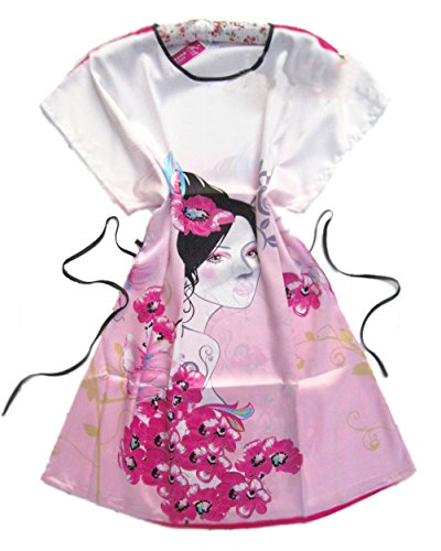 Westeng Pijama Satén Lisa Cordón Encaje Interior Camisón Ropa Cam Para Mujer Azul,1Pcs Rosado