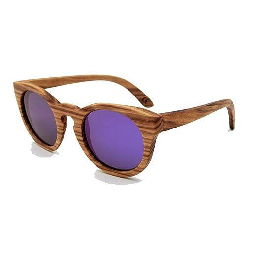 Bambus Sonnenbrillen, Top Tac Gläser Für Männer Und Frauen,Brown