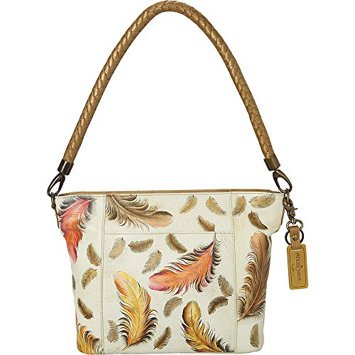ANUSCHKA Bagage cabine, Floating Feathers Ivory (multicolore) - 608-FFT-I