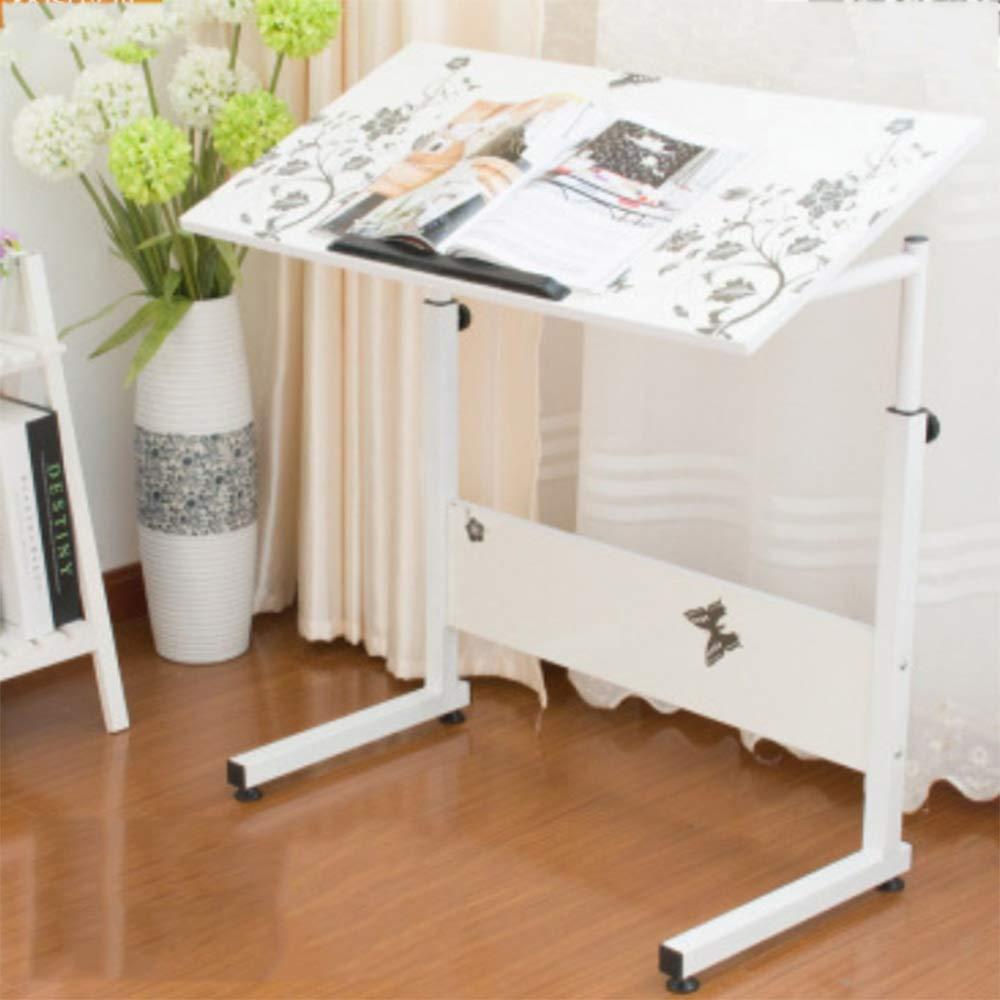 Mesa plegable ZZHF, escritorio pequeño para levantar y mover ...