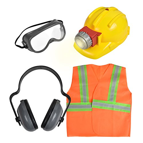 Action Deluxe Construction Worker Playset product image