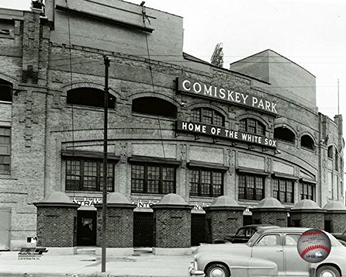 Chicago White Sox Comiskey Park MLB Stadium Photo (Size: 16