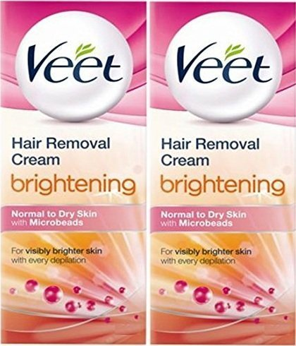 Veet Hair Removal Cream Brightening Sensitive Skin 25g Pack Of 2