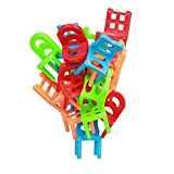 stacking games toys one set balance chair piles of high stool table games board games children's educational toys sets