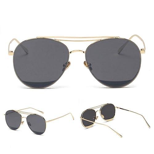 Z&YQ Lunettes de soleil mode mâle et femelle couleur film transparent lunettes de soleil