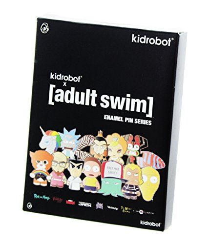 Kidrobot Adult Swim Blind Bag Enamel Pin Series, One - Canada Swim Bags