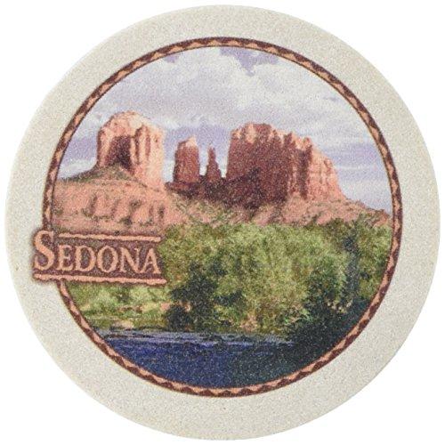 Thirstystone Stoneware Red Rock Sedona Coaster, Multicolor