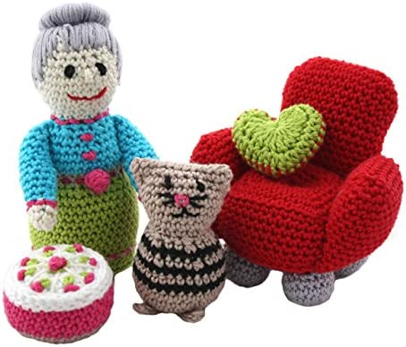 Mini crochet heart - Pequeño corazón de crochet #DIY #TUTORIAL ... | 392x467
