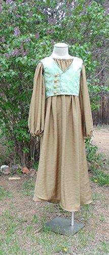 Girls 10 Teen Medieval or Renaissance - Wood Costume Elf