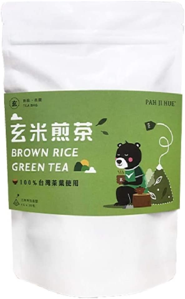 《百二歳》玄米煎茶 玄米緑茶 80g 20パック 《台湾 お土産》[並行輸入品]