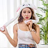 yqtyqs Bunny Hat with Moving Ear Rabbit