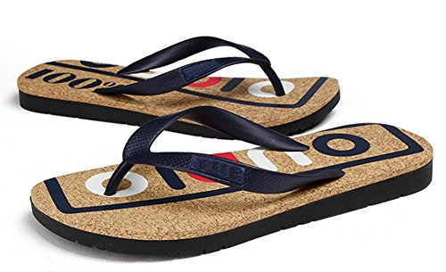 alphabet 1 shoes 2017 tide casual beach sandals daily drag printed letters summer 41 men's 6wtx7qU
