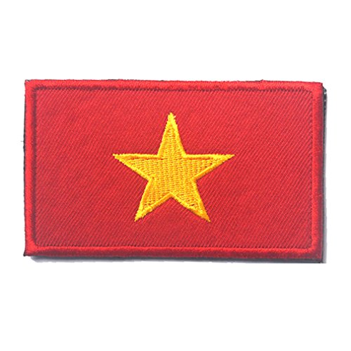 Vietnam Flag Patch Embroidered Military Tactical Flag