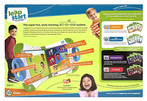 LeapFrog LeapStart Interactive Learning System, Green (Frustration Free Packaging) by LeapFrog (Image #2)