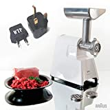 Bundle 2 Items: Meat Grinder + WTP Plug Kit - Braun G1300 (NOT FOR USA) - International Model - FOR EXPORT ONLY - Do Not Use In The USA - Requires Foreign 220/240 Voltage To Operate review