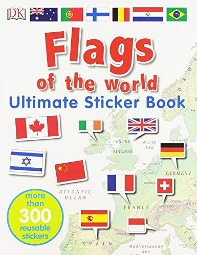 - Flags of the World Ultimate Sticker Book