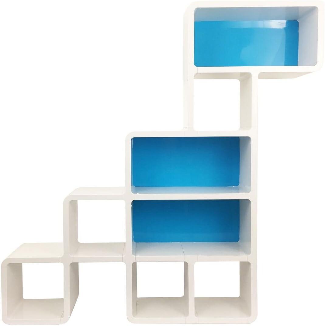 Zubiix Dino Dinosaur Bookcase - White