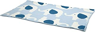 product image for in2green Baby Elephant All Over Eco Throw - Blue