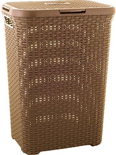 Curver 3253920707048Laundry Box, Plastic, 30x 40x 60cm, Brown