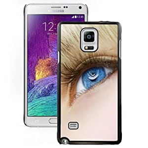 Fashionable Custom Designed Cover Case Samsung Galaxy Note 4 N910A N910T N910P N910V N910R4 With Blonde Blue Eyes Phone Case Cover