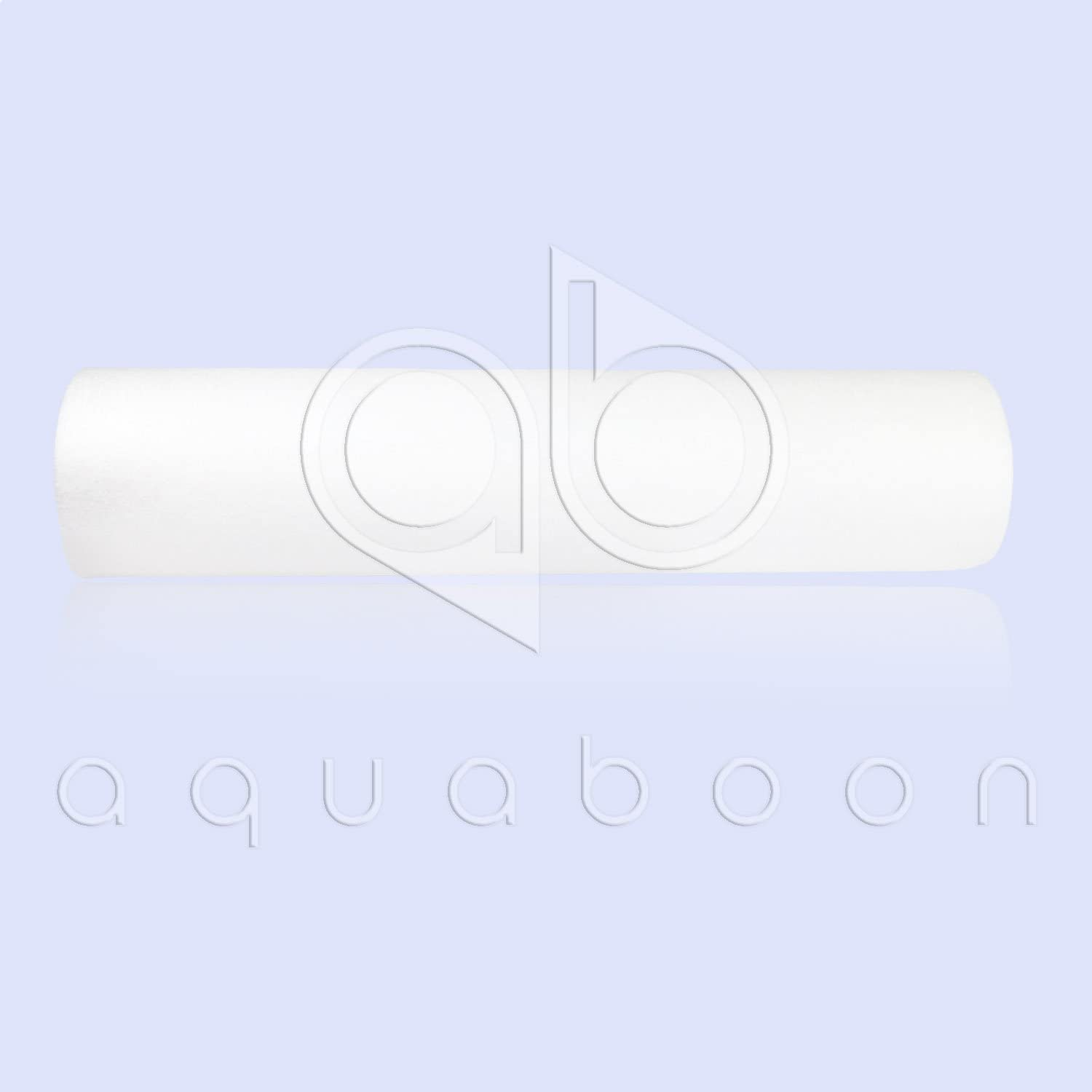 """Aquaboon 25-Pack of 5 Micron 10"""" Sediment Water Filter Replacement Cartridge for Any Standard RO Unit   Whole House Sediment Filtration   Compatible with Dupont WFPFC5002, Pentek DGD Series, RFC: Home & Kitchen"""