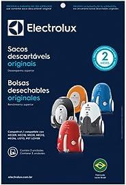 Kit com 3 Sacos Descartáveis Sbene para Aspiradores de Pó, Electrolux, Branco