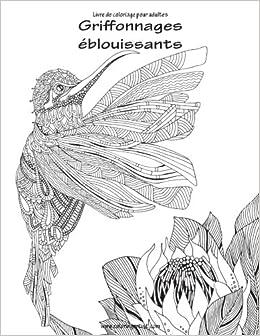 Book Livre de coloriage pour adultes Griffonnages éblouissants 1: Volume 1
