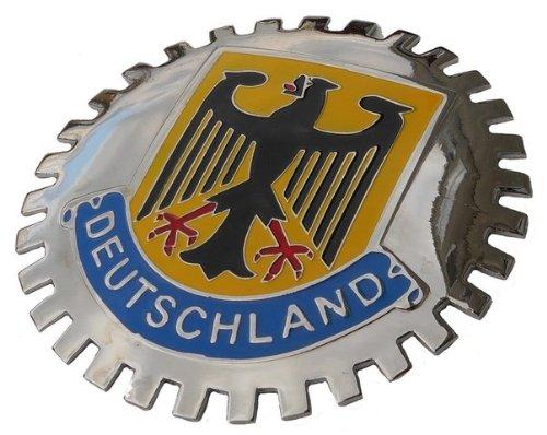Germany car Grille Badge Deutschland
