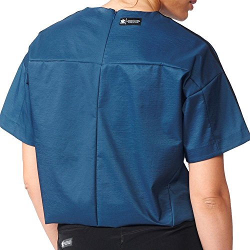 Camiseta adidas �?T-Shirt azul/negro
